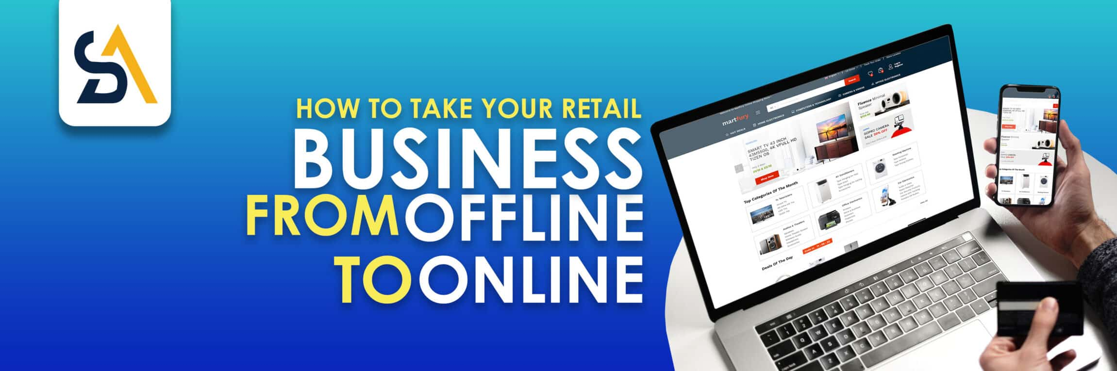 How to take your retail business from offline to online